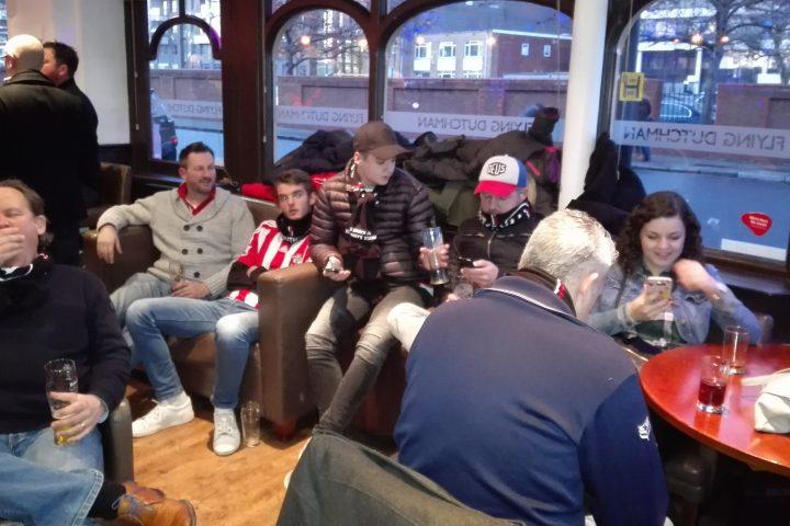 Biertje in de pub